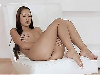 Sweet Paula playing with her ass