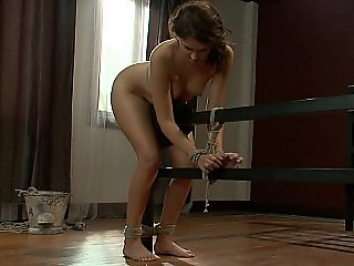 tied and ass fucked