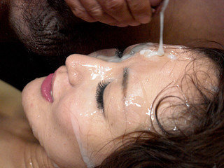 Molten mass ejaculation session with Miu Natsume